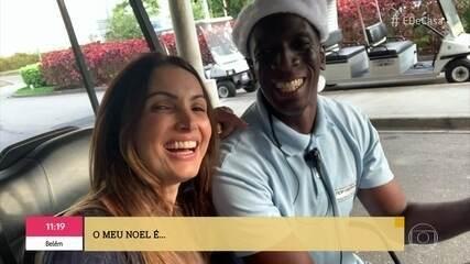 """André Marques e Patrícia Poeta apresentam os """"Noéis"""" da vida real"""
