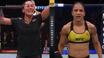 Melhores momentos de Jessica Eye x Vivi Araújo no UFC 245
