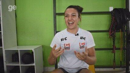 Amanda Ribas fala sobre primeiro Natal após estrear no UFC