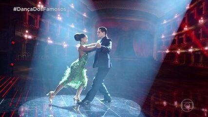 Dandara Mariana e Daniel Norton dançam tango na final do 'Dança dos Famosos'