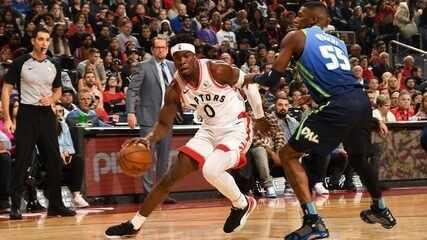 Melhores momentos de Toronto Raptors 110 x 107 Dallas Mavericks pela NBA