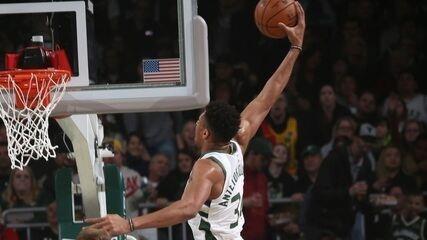 Veja o Top 5 das melhores jogadas da noite da NBA