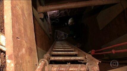 Polícia busca integrantes de quadrilha que cavou túnel para roubar BB, em Campo Grande