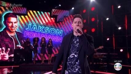 Jakson Follmann canta 'Propaganda' na grande final do 'PopStar'