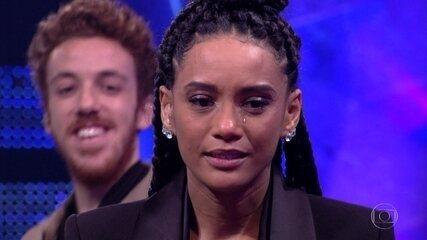 Taís Araujo se emociona após surpresa do 'PopStar'