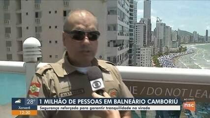 Segurança é reforçada para o Réveillon de Balneário Camboriú