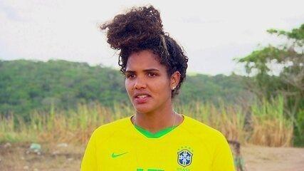 De férias em Pernambuco, atacante Duda fala de Seleção Brasileira e futuro no São Paulo