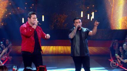 Caldeirão de Ouro: Top 04 - Matheus & Kauan canta musica Vou Ter Que Superar