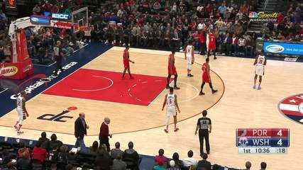 Melhores momentos: Washington Wizards 103 x 122 Portland Trail Blazers, pela NBA