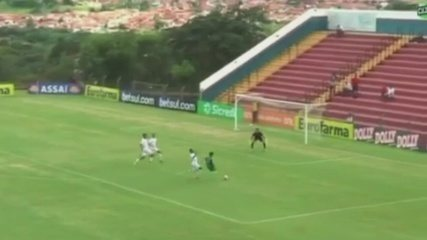 Veja o gol da vitória do Galvez contra o Desportivo Brasil-SP na Copinha