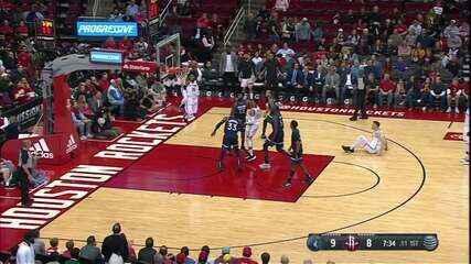 Melhores momentos: Houston Rockets 139 x 109 Minnesota Timberwolves, pela NBA