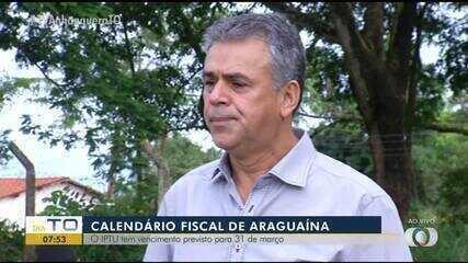 Prefeitura de Araguaína divulga o calendário das datas de pagamento e vencimentos do IPTU