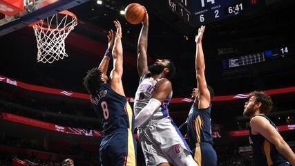 Confira o Top 10 das jogadas da noite da NBA