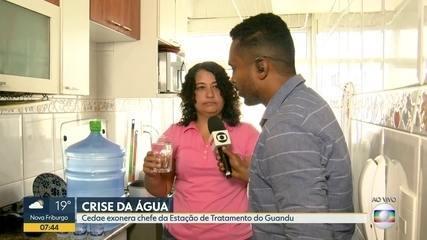 Moradores da Zona Oeste reclamam da qualidade da água
