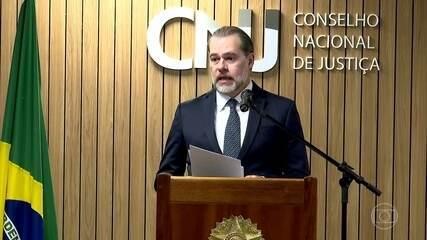 Dias Toffoli adia por seis meses o prazo para implementar a figura do juiz de garantia
