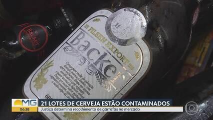 Ministério da Agricultura identifica contaminação em 21 lotes de cervejas da Backer