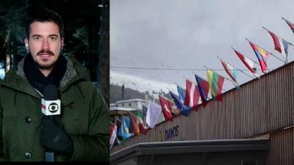 Expectativa é grande para o início do Fórum Econômico Mundial em Davos, na Suíça
