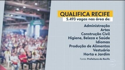 Qualifica Recife ofecere 5.493 vagas gratuitas em cursos