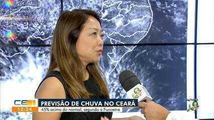Previsão de chuva acima do normal no Ceará, diz a Funceme