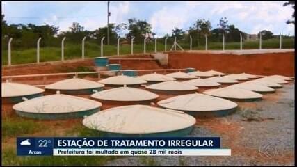 Prefeitura de Divinópolis é multada por funcionamento irregular de ETE