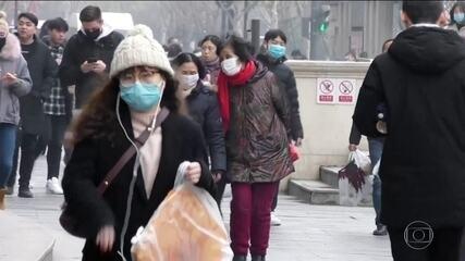 China confirma sexta morte por coronavírus; EUA registram primeiro caso