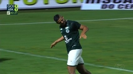 Veja os gols do jogo entre Goiás e Aparecidense