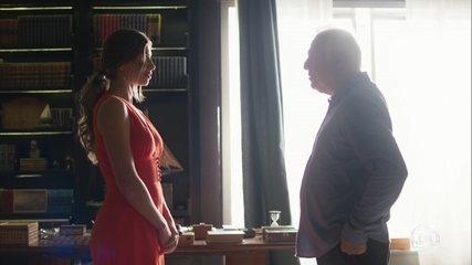 Alberto visita Paloma e sugere mais uma obra de nossa literatura