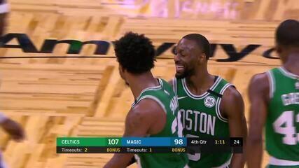 Melhores momentos de Boston Celtics 109 x 98 Orlando Magic pela NBA