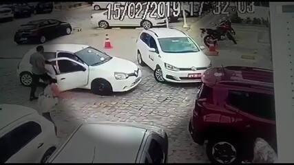 Briga de trânsito - João Pessoa