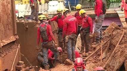 Balanço da Defesa Civil confirma 44 mortes por conta da chuva em Minas Gerais