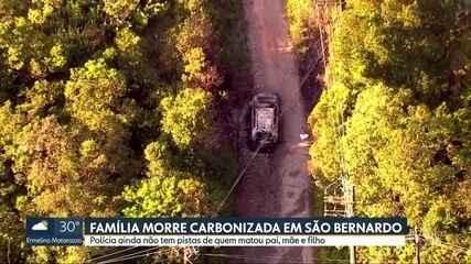 Família morre carbonizada em São Bernardo