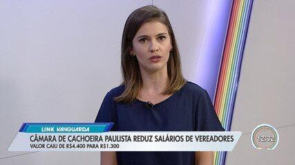 Câmara de Cachoeira Paulista reduz salários de vereadores
