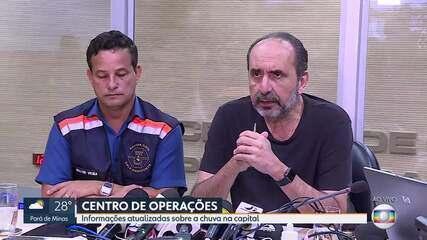 'Nós vamos reconstruir essa cidade', diz prefeito de Belo Horizonte após chuva histórica