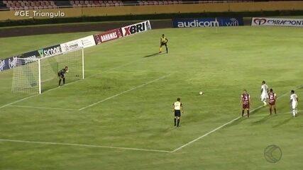 Uberlândia Esporte e Patrocinense empatam sem gols pelo Campeonato Mineiro