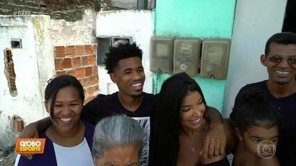 Atacante Ewandro, do Sport, saiu de Recife, rodou o mundo, e voltou às raízes