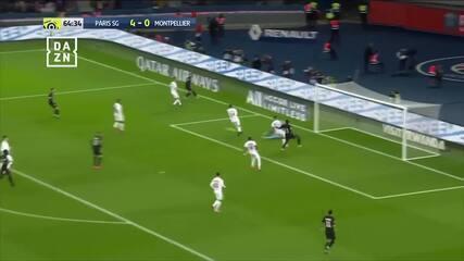 Gols de PSG 5 x 0 Montpellier pelo Campeonato Francês