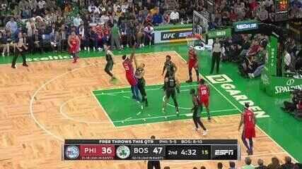 Melhores momentos de Boston Celtics 116 x 95 Philadelphia 76ers pela NBA
