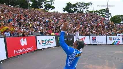 Kiko Silva é o grande campeão do Duelo de Motos