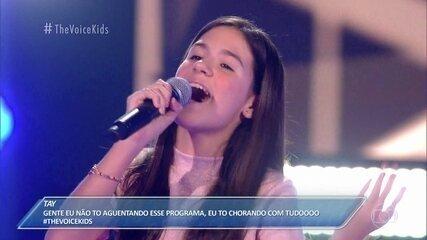 """Ana Luiza Salgueiro canta """"Never Ending Story"""""""