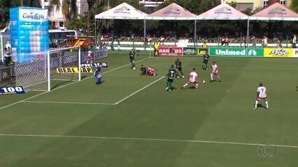 Os gols de Goiás 1x1 Vila Nova pelo Goianão