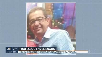 Polícia aguarda laudo para saber a causa da morte de professor