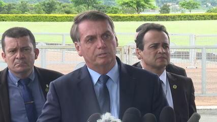 Bolsonaro desafia governadores a reduzirem ICMS sobre combustível
