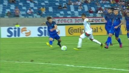 Melhores momentos de Operário de Várzea Grande 0 x 0 Santa Cruz, pela Copa do Brasil