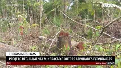 Projeto regulamenta mineração e outras atividades econômicas em terras indígenas