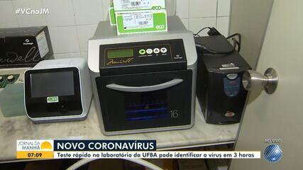 Teste rápido desenvolvido por pesquisadores da UFBa pode identificar o novo coronavírus