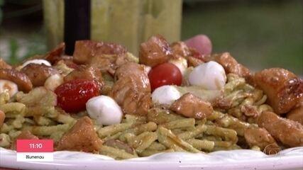 Chef Ravioli ensina massa ideal para comer no verão