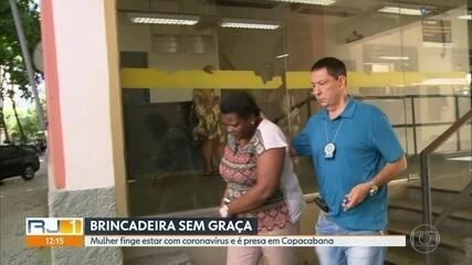 Mulher finge estar com coronavírus para furar fila em unidade de saúde