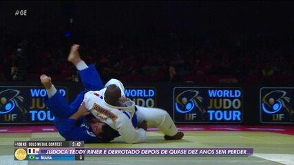Judoca Teddy Riner é derrotado depois de quase dez anos sem perder
