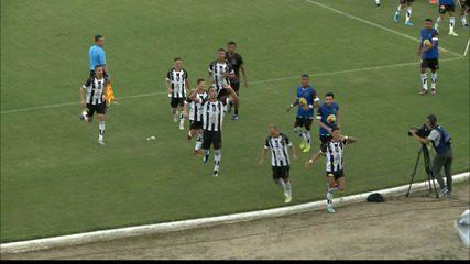 Reportagem sobre Botafogo-PB 2 x 1 Náutico, pela Copa do Nordeste