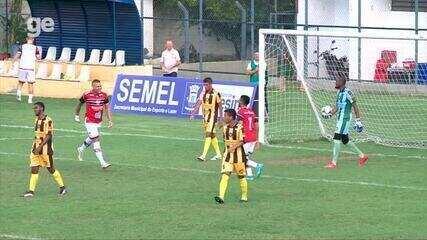 River-PI venceu apenas um jogo no Piauiense: 5 a 1 sobre o Timon-PI. Veja os gols